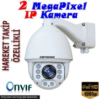 2MEGAPIXEL IP SPEED DOME AUTO TRACKING CCTV CAMERA