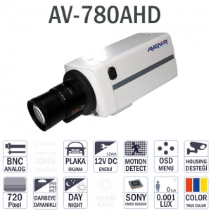 AV-780AHD - Aptina CMOS Analogy HD 720P