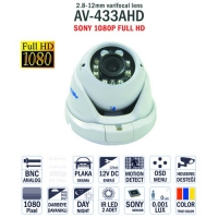 AV-433AHD - Sony Full Hd 1080P Kamera