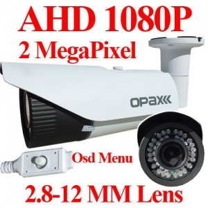 AHD 1080p 2 MegaPIXEL 2.8-12 MM 42 IR LED METAL KASA 40-45M GECE