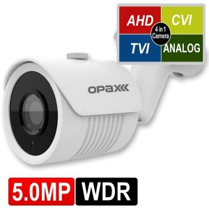 OPAX-1113 5 MP (2592x1944) 4 IN 1 HD 3.6MM SABİT LENSLİ AHD BULLET KAMERA