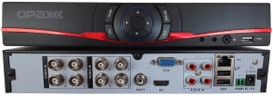 1080P 8 KANAL VIDEO 4 KANAL SES 1 HDD AHD / IP / ANALOG 3 IN 1 DVR